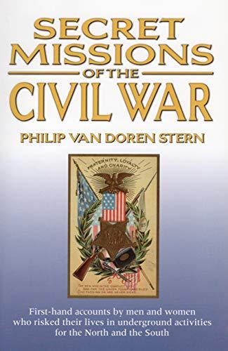 9780517214466: Secret Missions of the Civil War [Taschenbuch] by Philip Van Doren Stern