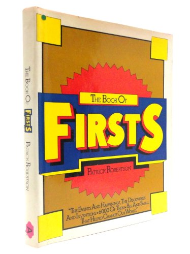 Book Of Firsts: Rh Value Publishing