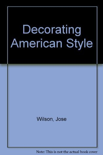 9780517217214: Decorating American Style