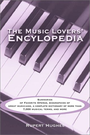 9780517218907: Music Lovers' Encyclopedia