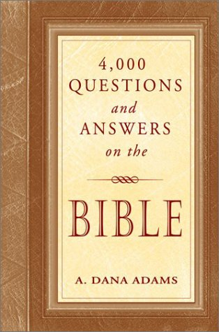 9780517219232: 4000 Questions and Answers on the Bible