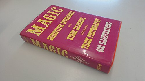 9780517224090: Magic : stage illusions and scientific diversions, including trick photography / compiled and edited by Albert A.Hopkins ; with an introduction by Henry Ridgely Evans