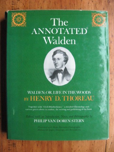 9780517224236: The Annotated Walden: Walden or Life in the Woods