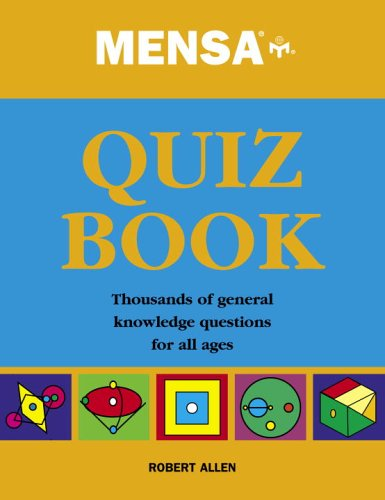 9780517226698: Mensa Quiz Book: Thousands Of General Knowledge Questions For All Ages