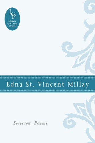 9780517227213: Edna St. Vincent Millay: Selected Poems (Library of Classic Poets)