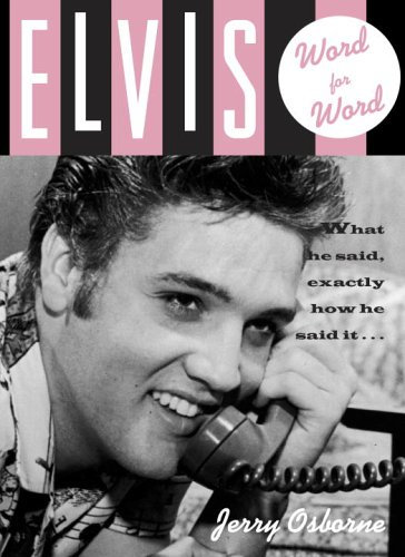 9780517227954: Elvis: Word for Word