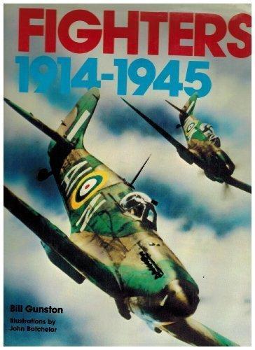 Fighters 1914-1945: Gunston, Bill (Illustrations