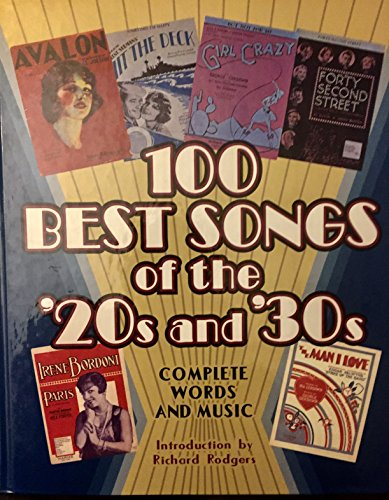 9780517245156: 100 Best Songs of the 20's & 30's