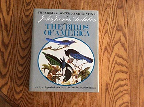9780517249451: Original Water Color Paintings By John James Audubon For Birds Of America