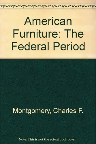 American Furniture: The Federal Period