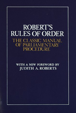 9780517259207: Robert's Rules of Order: The Classic Manual of Parliamentary Procedure