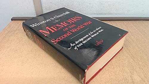 9780517270325: Memoirs of the Second World War: An abridgement of the six volumes of The Second World War