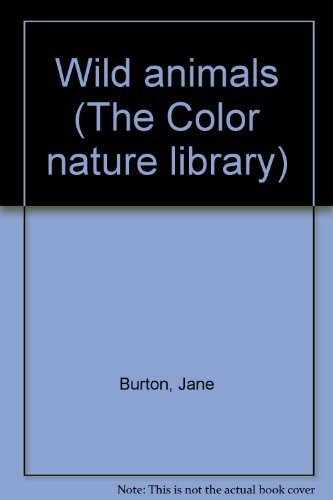 9780517278130: Wild animals (The Color nature library)