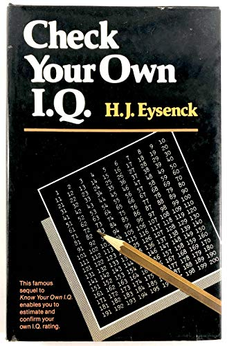 9780517279267: Check Your Own IQ