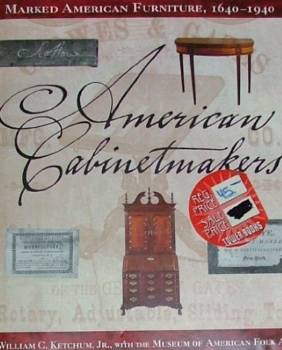 9780517280454: American Cabinetmakers