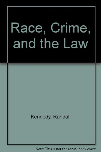 9780517284582: Race, Crime, and the Law