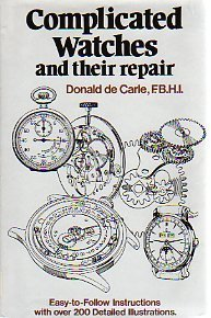 9780517292525: Complicated watches and their repair