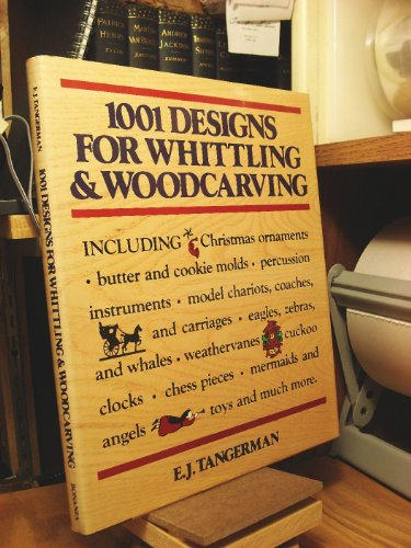9780517294086: 1001 Designs for Whittling and Woodcarving