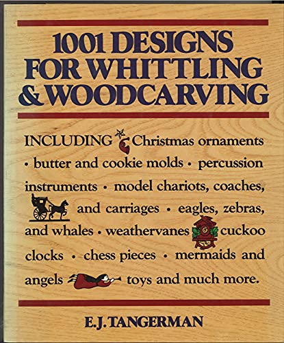 9780517294086: 1001 Designs for Whittling & Woodcarving
