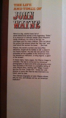 The Life and Times of John Wayne: David and Others Hanna