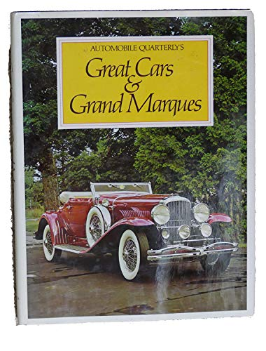 9780517307274: Automobile Quarterly's Great Cars & Grand Marques