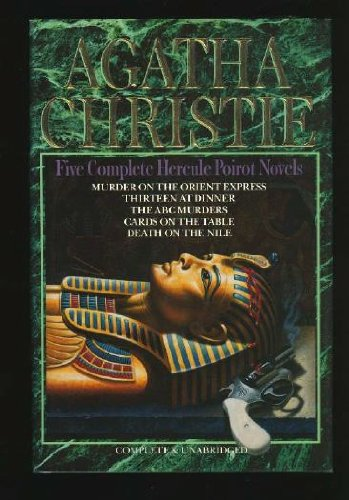 9780517309766: Five Complete Hercule Poirot Novels: Thirteen at Dinner / Murder on the Orient express / The ABC Murders / Cards on the Table / Death on the Nile