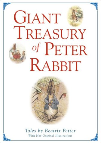 PETER RABBIT GIANT TREASURY (Derrydale 1980 Edition)