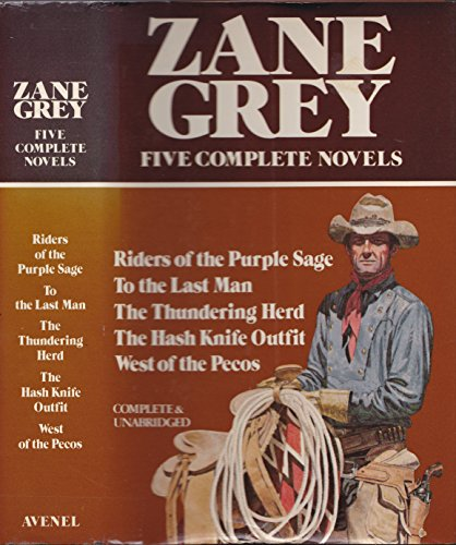 9780517322215: Title: Zane Grey Five Complete Novels Riders of the Pur
