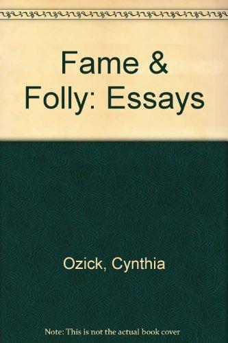 Fame and Folly: Cynthia Ozick