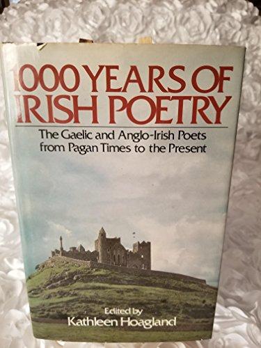 9780517342954: 1000 Years Of Irish Poetry