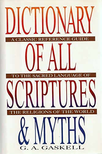 9780517346631: Dictionary of All Scriptures and Myths