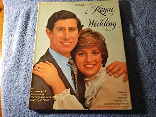 9780517350416: Invitation to a Royal Wedding: Charles and Di
