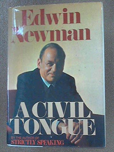9780517367612: A Civil Tongue