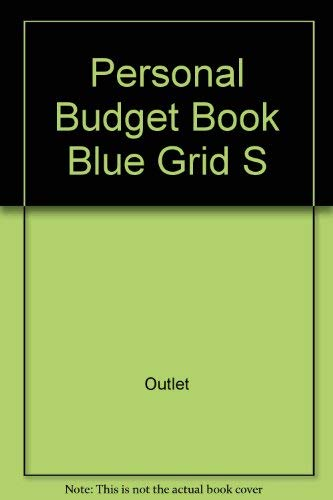 Personal Budget Book Blue Grid S by Outlet Book Company Staff and ...