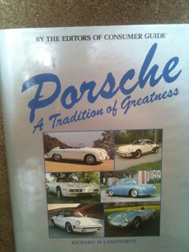 9780517404966: Porsche: A tradition of greatness
