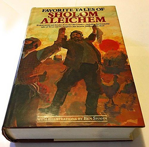 9780517412947: Favourite Tales of Sholom Aleichem