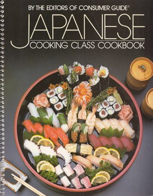 JAPANESE COOKING CLASS COOKBOOK