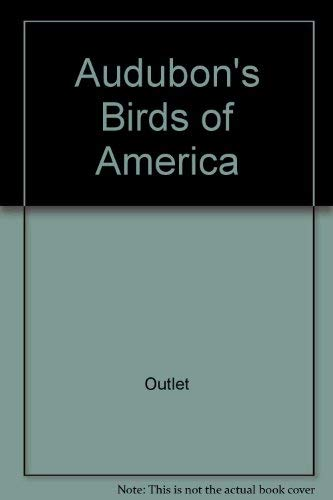 9780517415757: Audubon's Birds of America