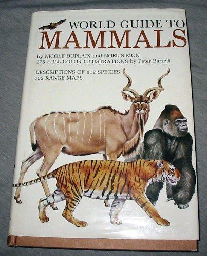 9780517416723: World Guide To Mammals