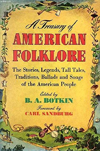 9780517420577: A Treasury of American Folklore