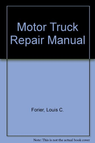 9780517420607: Motor Truck Repair Manual