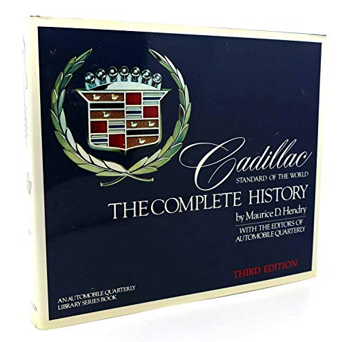9780517422816: Cadillac: Standard of the world : the complete history (Automobile quarterly library series)