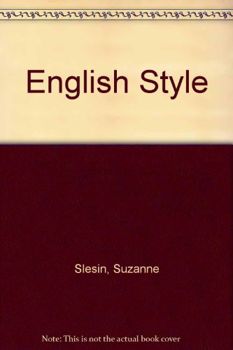 9780517426920: English Style [Paperback] by Slesin, Suzanne