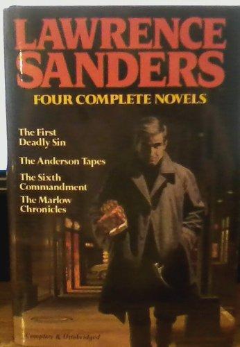 Lawrence Sanders Four Complete Novels: Lawrence Sanders