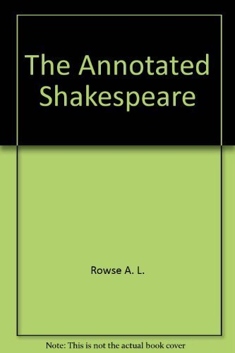 9780517436035: The Annotated Shakespeare: Three Volumes in One