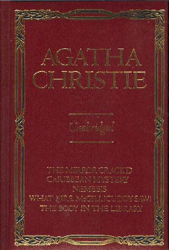 9780517436356: Agatha Christie: Five Complete Miss Marple Novels (The Mirror Crack'd / A Caribbean Mystery / Nemesis / What Mrs. Mcgillicuddy Saw! / The Body in the Library)