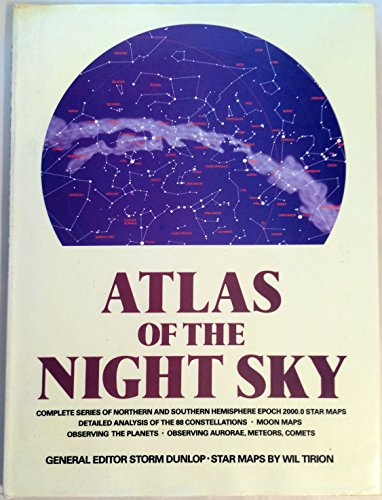 9780517444795: Atlas Of The Night Sky