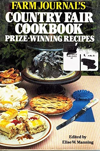 9780517448540: Farm Journal's Country Fair Cookbook Prize-Winning Recipes