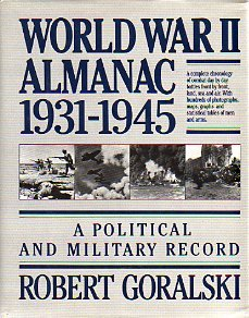 World War II Almanac 1931-1945: Robert Goralski