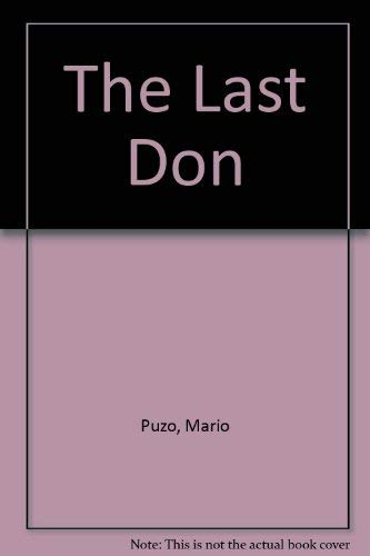 9780517456637: The Last Don [Paperback] by Puzo, Mario